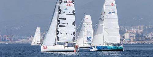 Vela d'altura, partenza del Gran Premio d'Italia classe Mini 6.50 Yacht Club Italiano, 8/14 aprile 2017