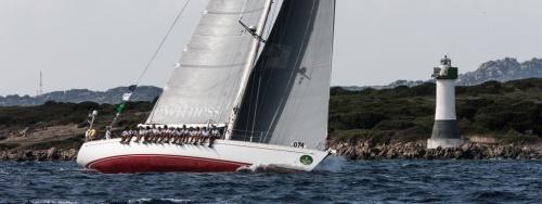 Un'imbarcazione a vela, lo Swan 651 Lunz am Meer