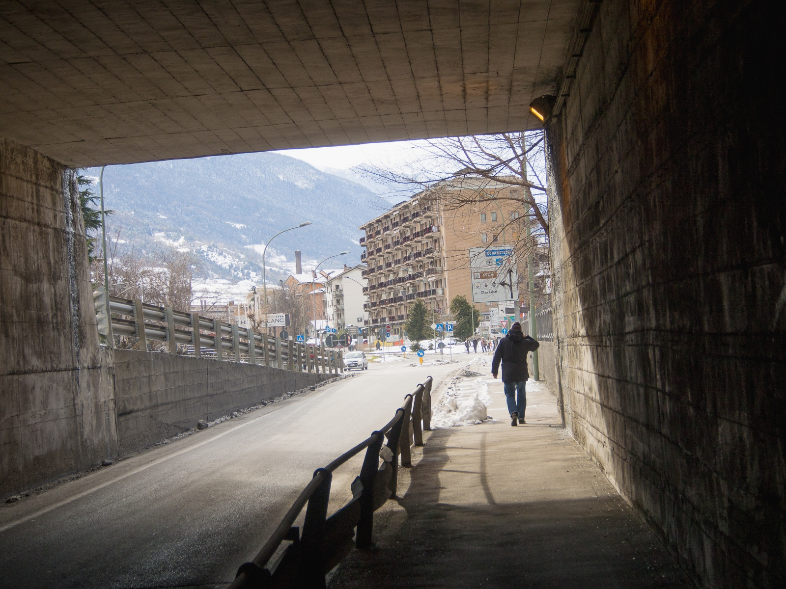 You Are Here - Aosta
